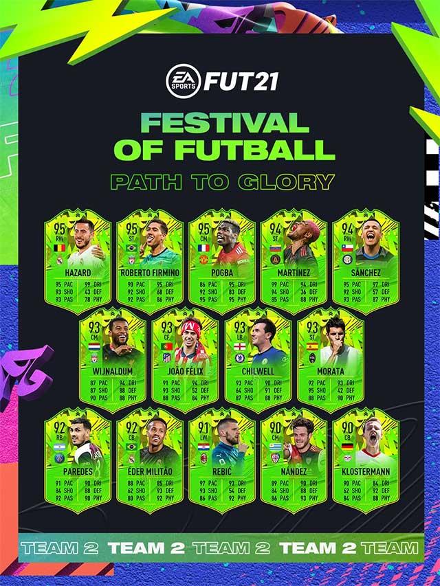 Promo Festival de FUTebol de FIFA 21 Ultimate Team