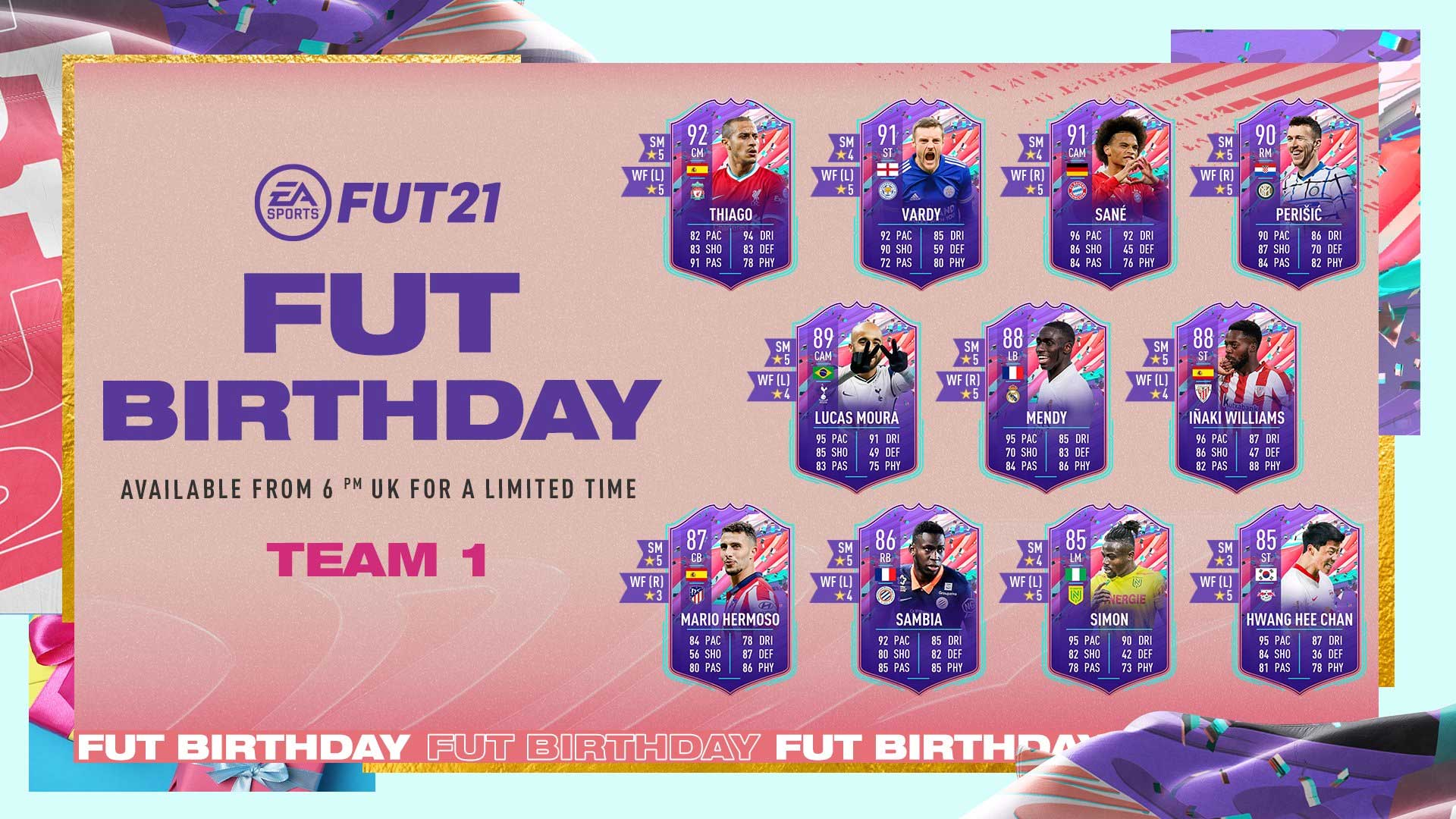 Aniversario de FUT - FIFA 21 Ultimate Team