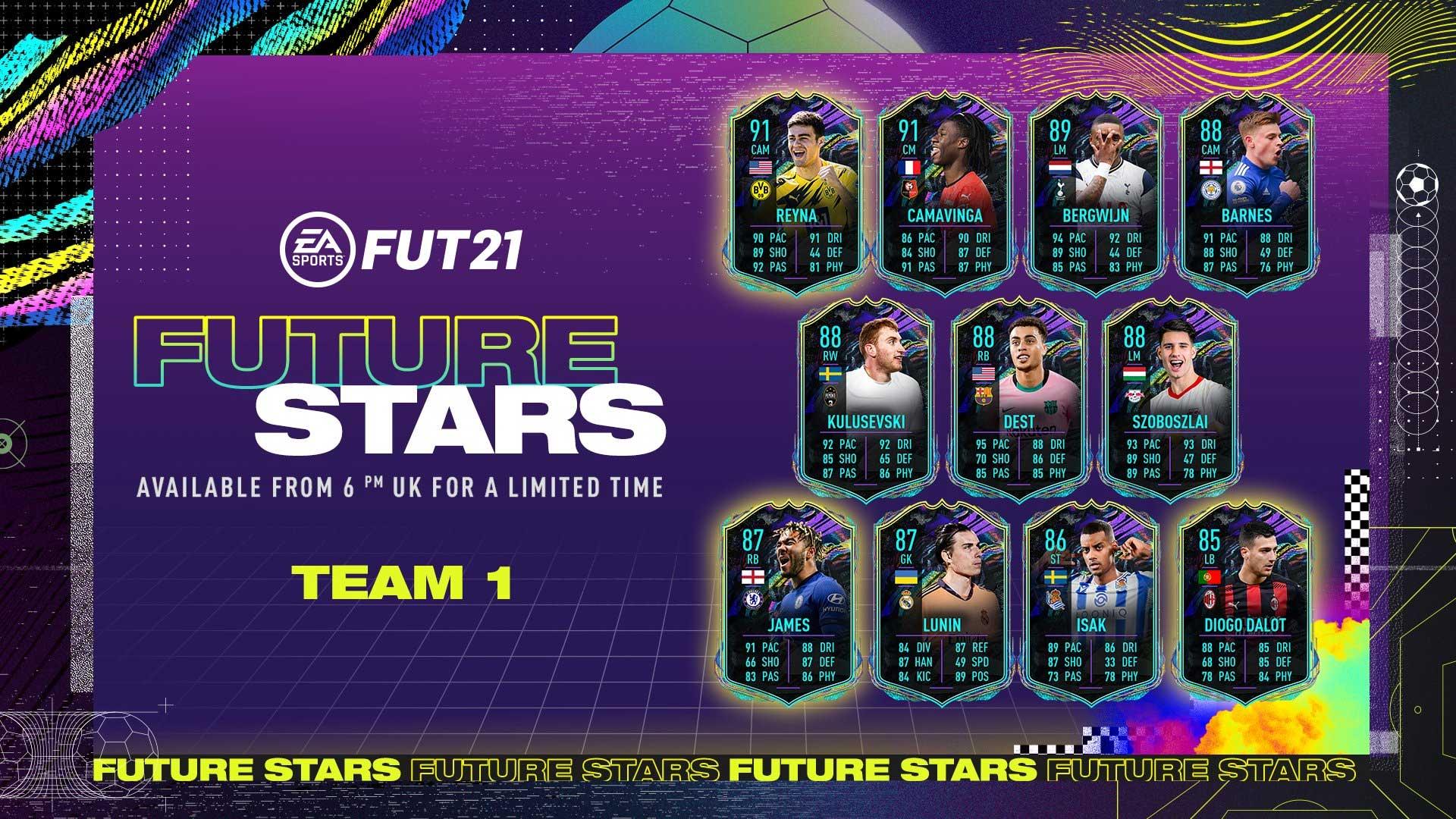 Craques do Futuro de FIFA 21 Ultimate Team