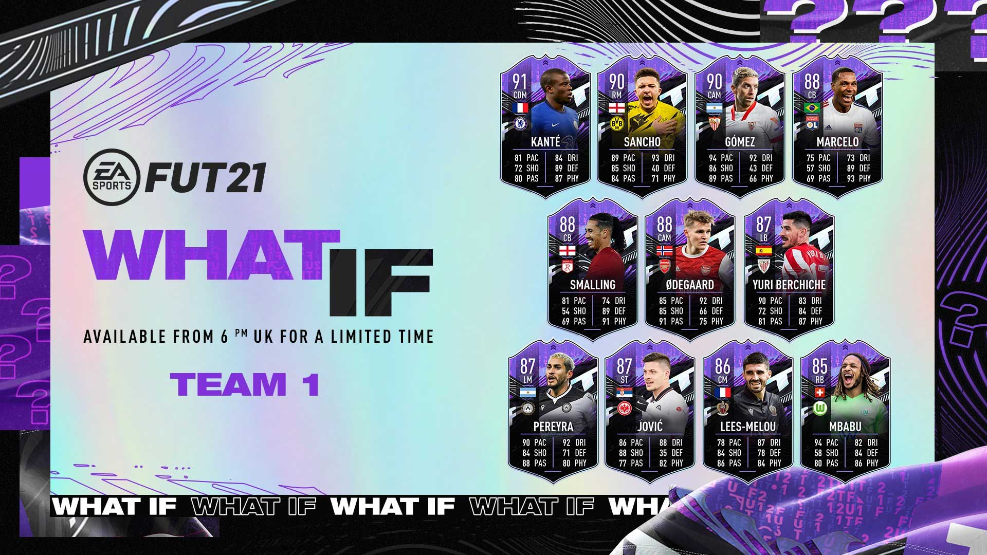 ¡Qué Pasaría Si...? - FIFA 21 Ultimate Team