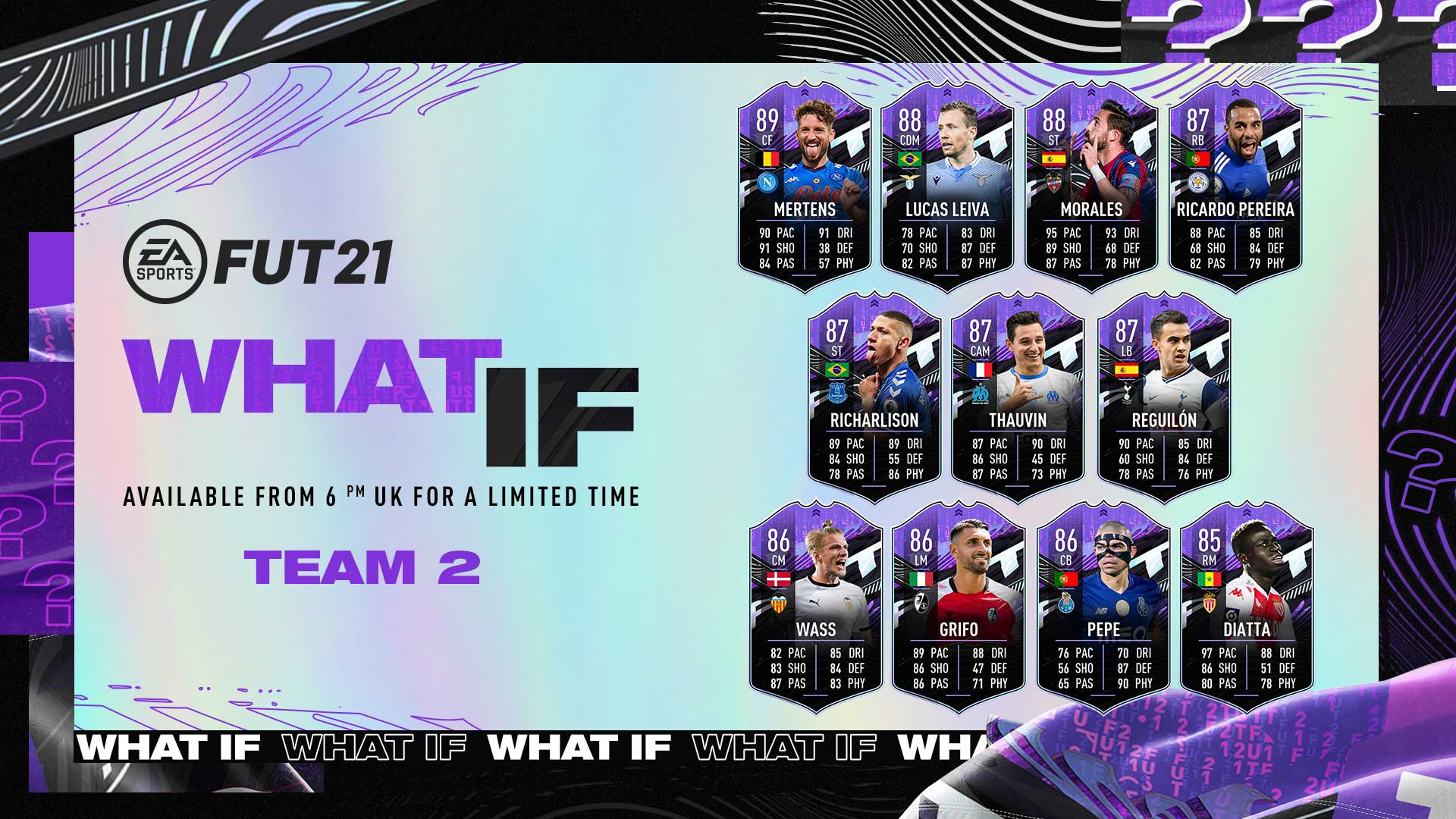 FUT 21 What If Event
