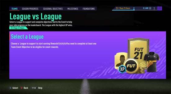 Objetivos de Temporada para FIFA 21
