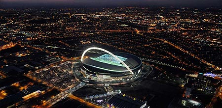 Real Image of the Stadium