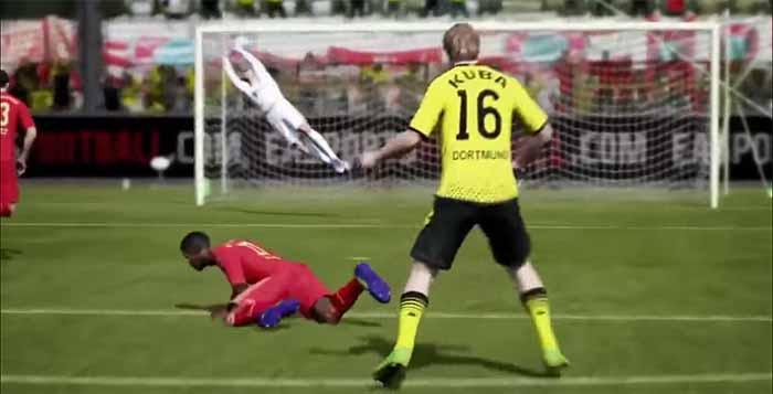 Next-Gen FIFA 14 Gameplay Demo
