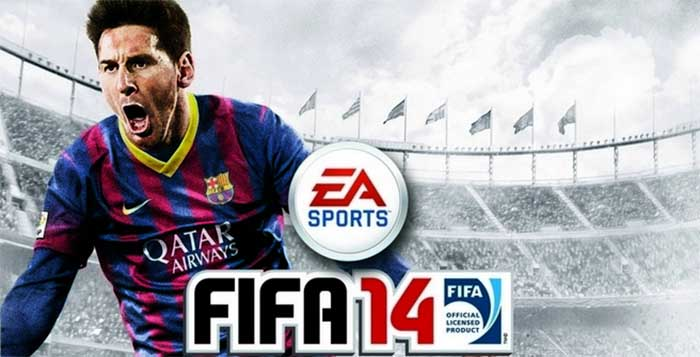 The Official Global FIFA 14 Cover