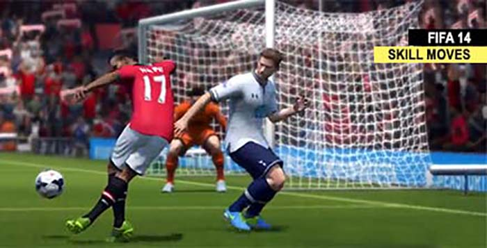 FIFA 14 Skill Moves - The Controls and the Videos Tutorials