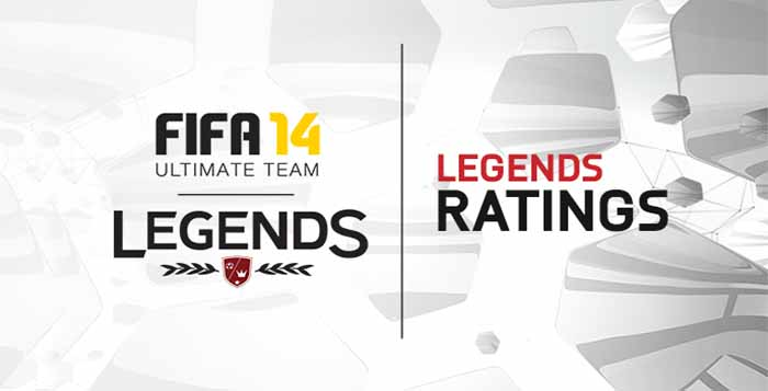 FIFA 14 Ultimate Team Legends Ratings and Skills