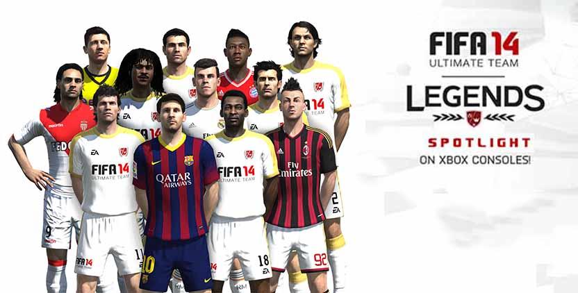 Full List of Legends Spotlight for FIFA 14 Ultimate Team