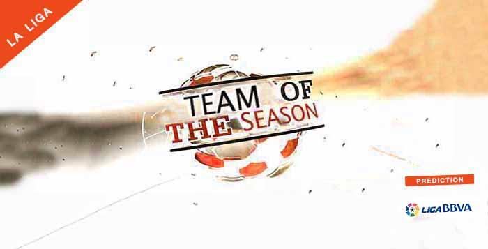 La Liga Team of the Season Prediction of FIFA 14 Ultimate Team