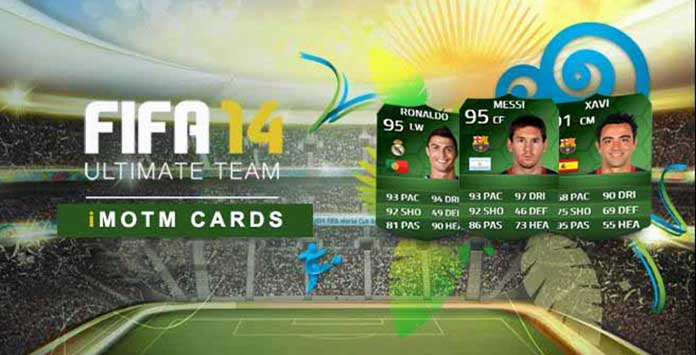 Green iMOTM cards are coming to FIFA 14 Ultimate Team