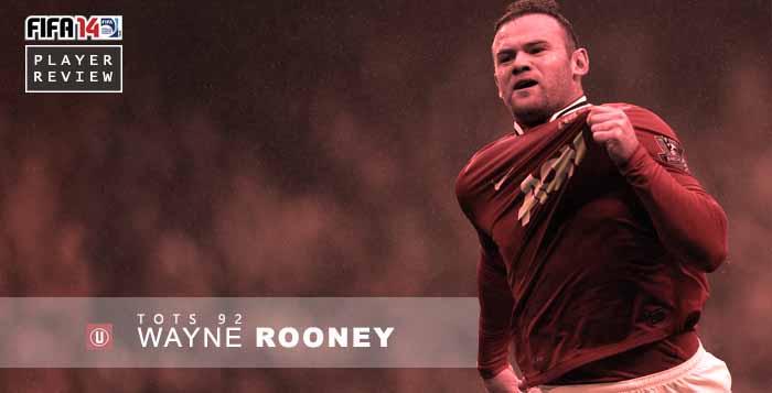 FUT 14 Players Review: TOTS Wayne Rooney 92