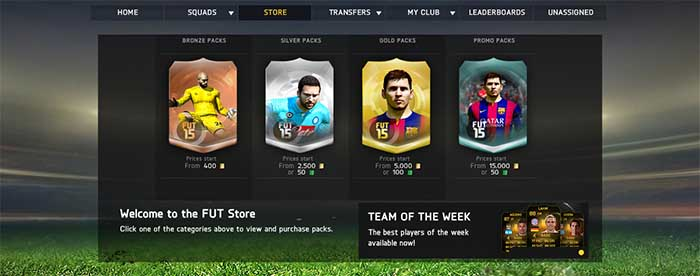 Free bets fifa 15 ultimate