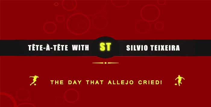 The day that Allejo cried!