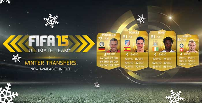 Complete List of FIFA 15 Ultimate Team Winter Transfers