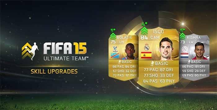 List of FIFA 15 Ultimate Team Skill Upgrades