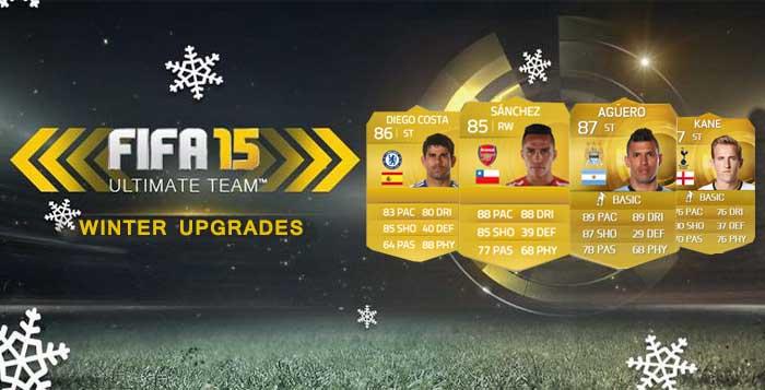 FIFA 15 Winter Upgrades in each League