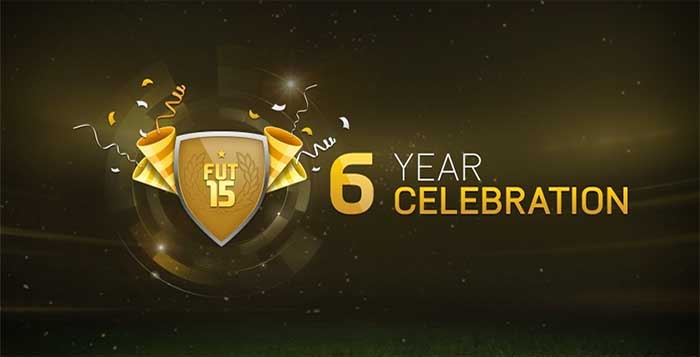 Celebrate 6 years of FIFA Ultimate Team with 6 Free Packs