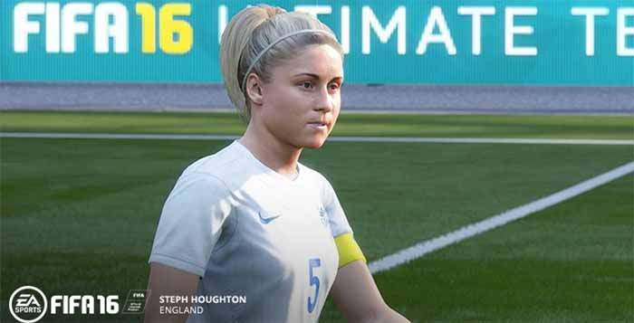 FIFA 16 Includes Women's National Football Teams
