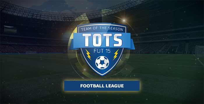 FIFA 15 Ultimate Team Football League TOTS