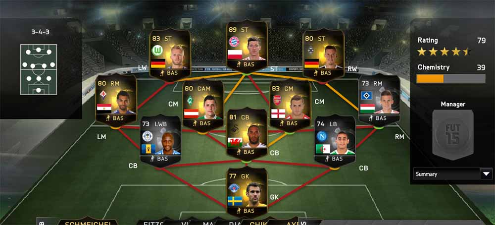 FIFA 15 Ultimate Team - TOTW 40