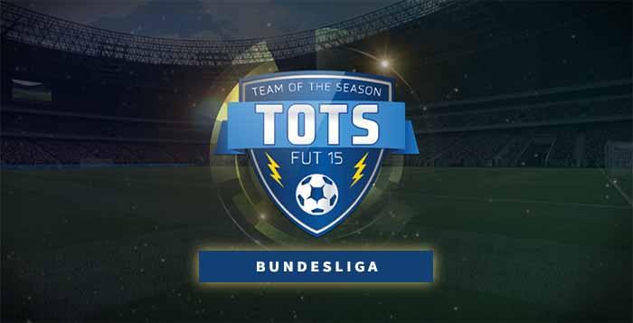 FIFA 15 Ultimate Team Bundesliga TOTS