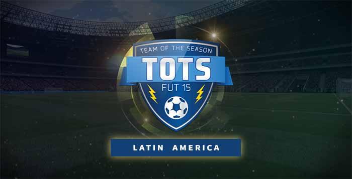 FIFA 15 Ultimate Team Latin America TOTS