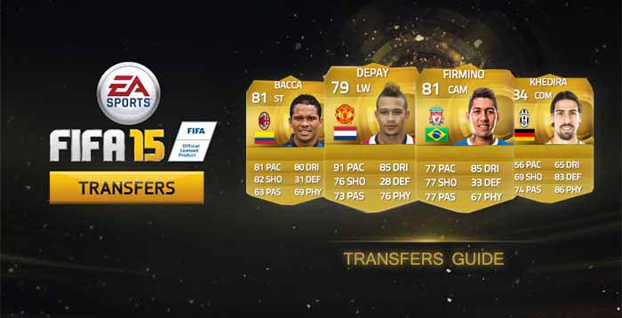 FIFA 15 Ultimate Team Summer Transfers Guide