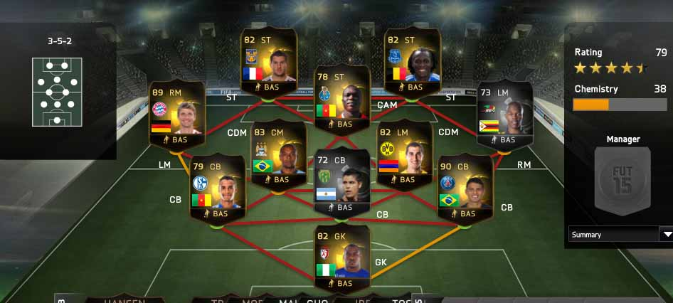 FIFA 15 Ultimate Team TOTW 49