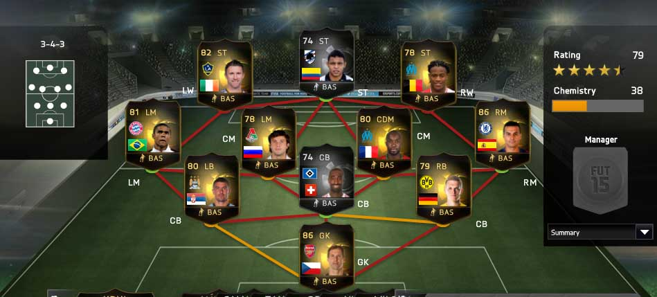 Equipa da Semana 50 - Todas as TOTW de FIFA 15 Ultimate Team