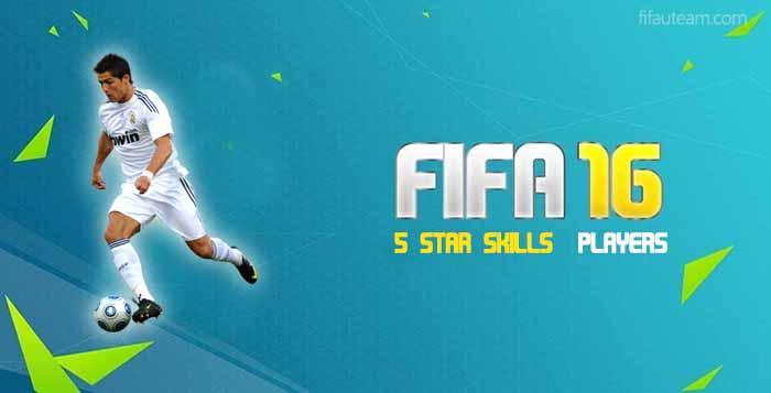 5 Star Skills Players on FIFA 16 Ultimate Team