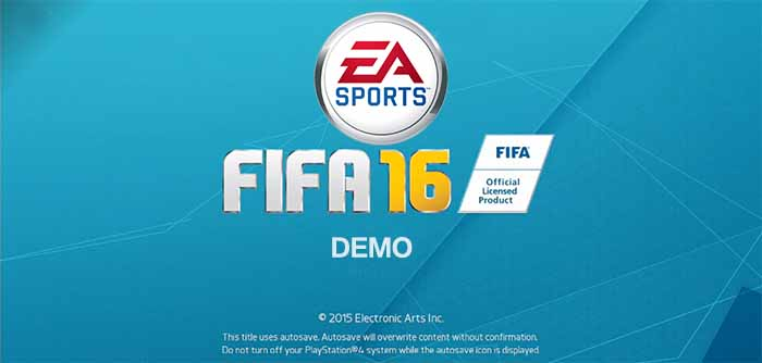 FIFA 16 Demo Date and Details Confirmed