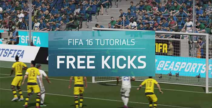FIFA 16 Gameplay Tips: Free Kicks Tutorial