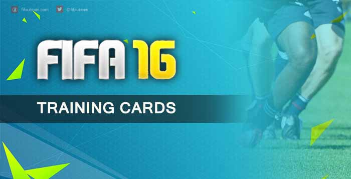 FIFA 16 Player Training Cards Guide