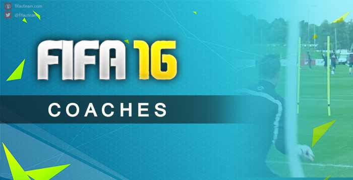 FIFA 16 Head Coaches and GK Coaches Guide
