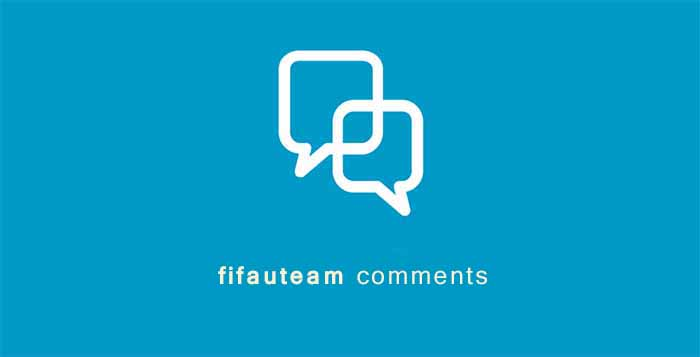 New FIFA U Team Comments System