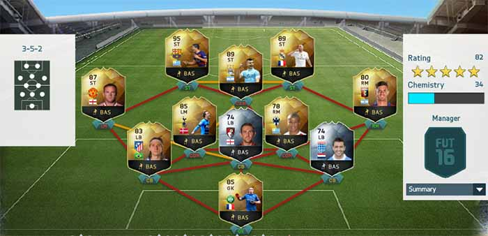 FIFA 16 Ultimate Team - TOTW 19