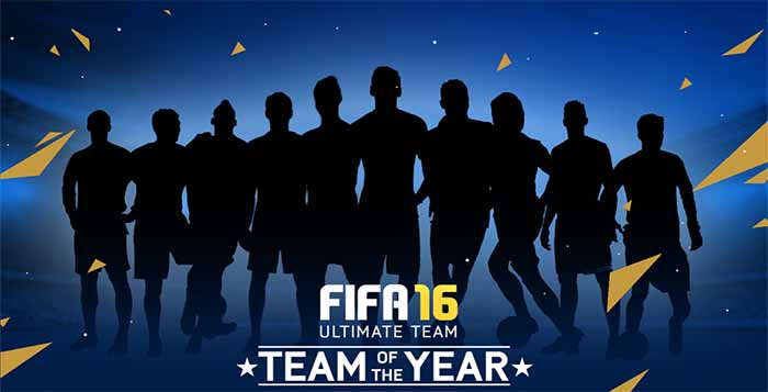 TOTY of FIFA 16 Ultimate Team - The Best Players of 2015