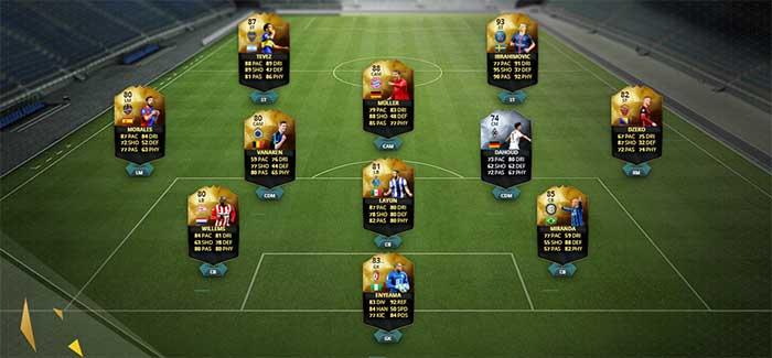 Equipa da Semana 24 - Todas as TOTW de FIFA 16 Ultimate Team