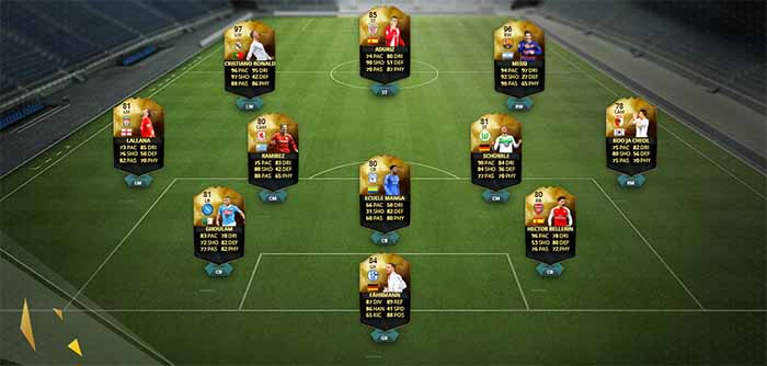 Equipa da Semana 26 - Todas as TOTW de FIFA 16 Ultimate Team