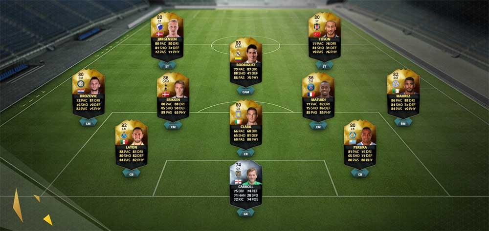 Equipa da Semana 29 - Todas as TOTW de FIFA 16 Ultimate Team