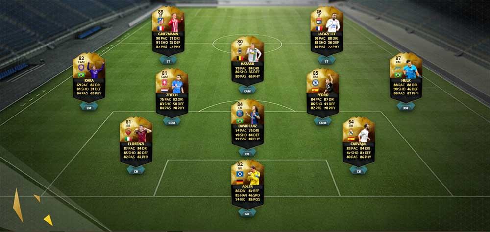 Equipa da Semana 30 - Todas as TOTW de FIFA 16 Ultimate Team