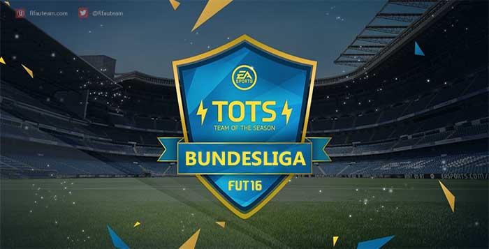 FIFA 16 Bundesliga Team of the Season