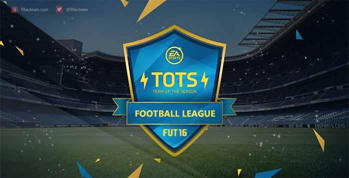 FIFA 16 Football League Team of the Season