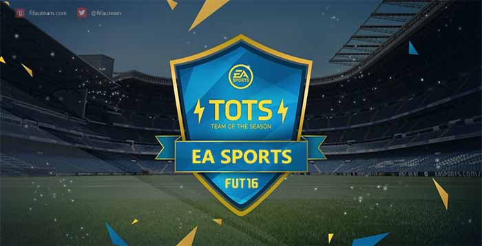 FIFA 16 EA Sports Team of the Season