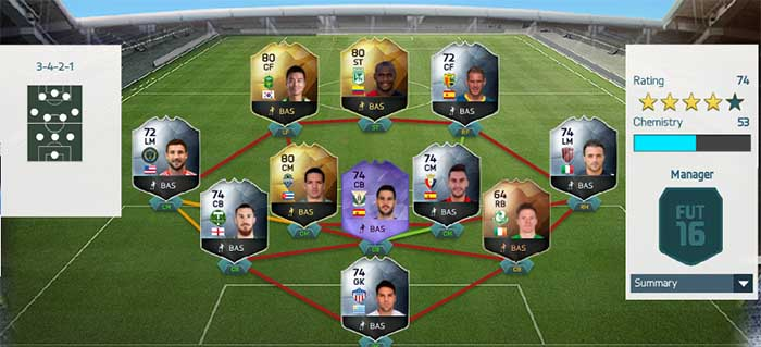 FIFA 16 Ultimate Team - TOTW 39