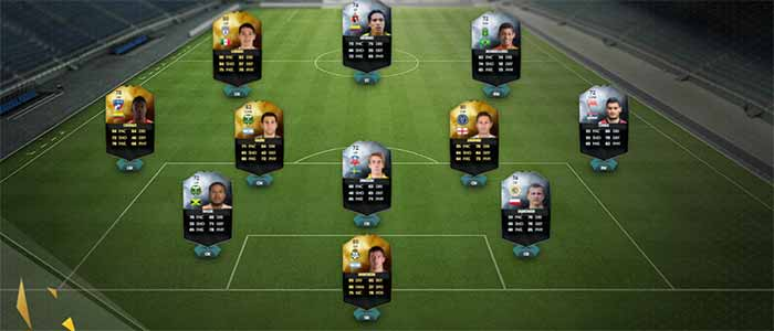 Equipa da Semana 45 - Todas as TOTW de FIFA 16 Ultimate Team