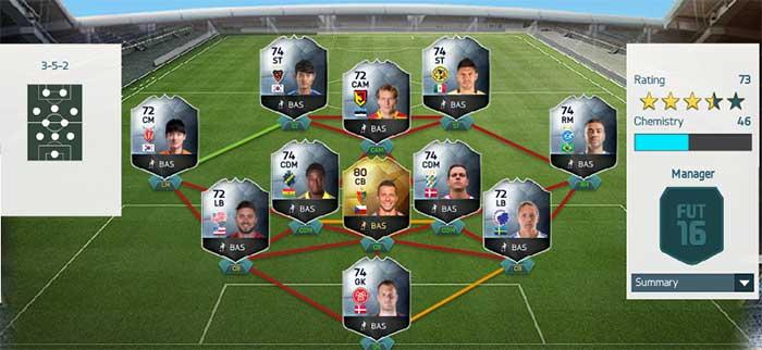 Equipa da Semana 46 - Todas as TOTW de FIFA 16 Ultimate Team