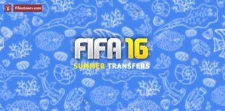 FIFA 16 Ultimate Team Summer Transfers List