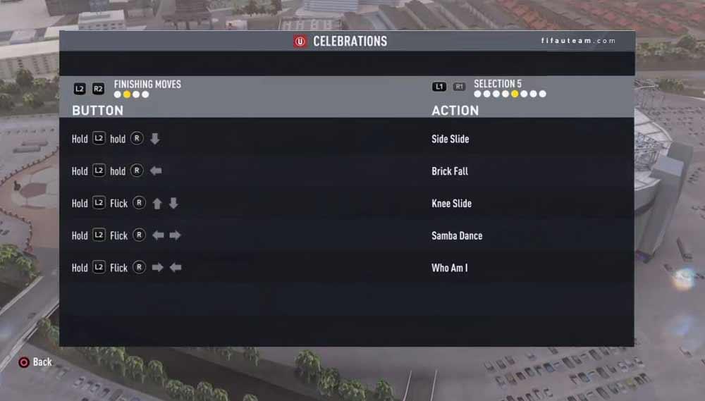 Guia de Celebrações de FIFA 17 para Playstation e XBox