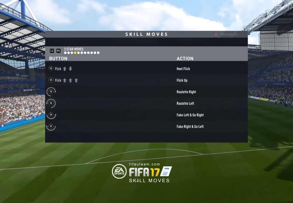 Skill Moves de FIFA 176